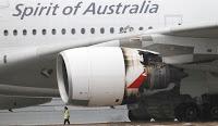 Quantas: le coût de l'explosion du moteur d'un A380