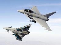 France: deux Eurofighter Typhoon pour célébrer le 14 juillet