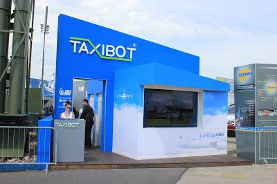 en direct du bourget le taxibot future r ussite franco isra lienne le portail des. Black Bedroom Furniture Sets. Home Design Ideas