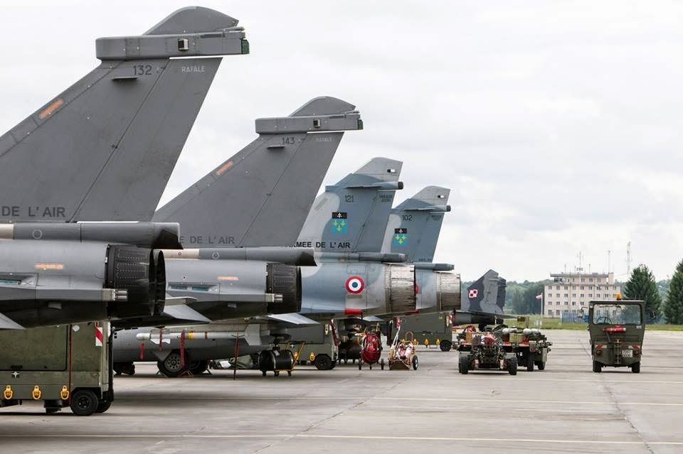Rafale en Inde: En attendant une signature, l'IAF fait de belles images.