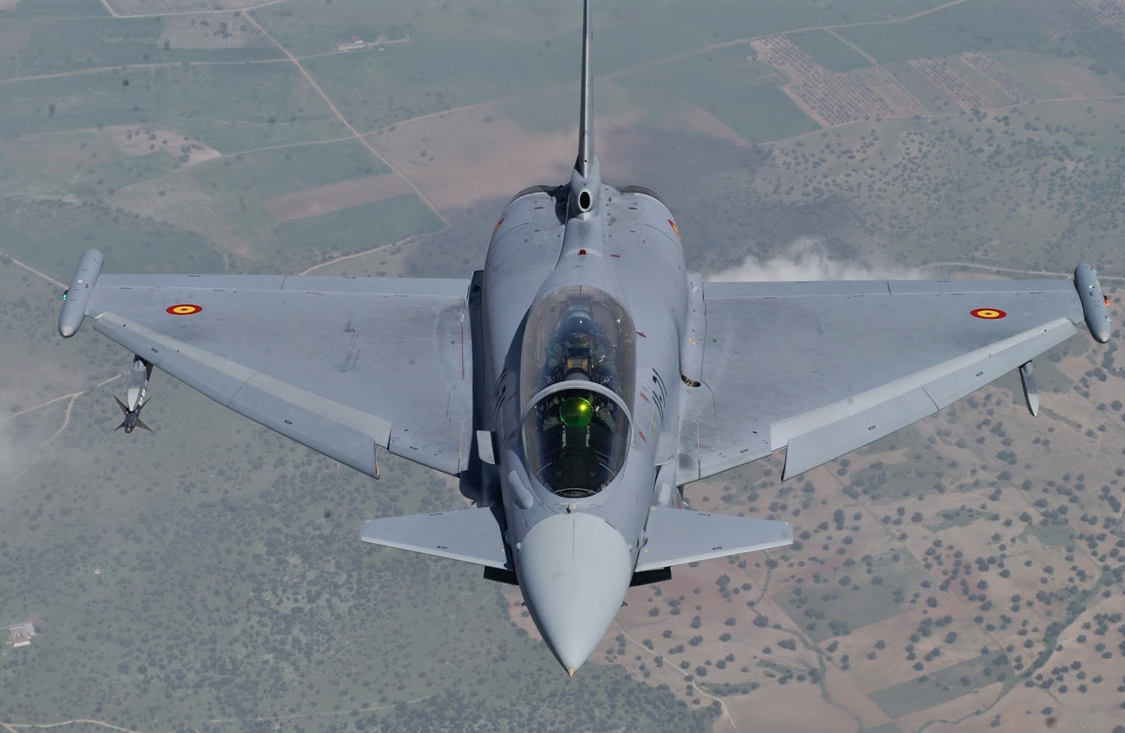 Accident: un Eurofighter Espagnol s'est écrasé en Espagne