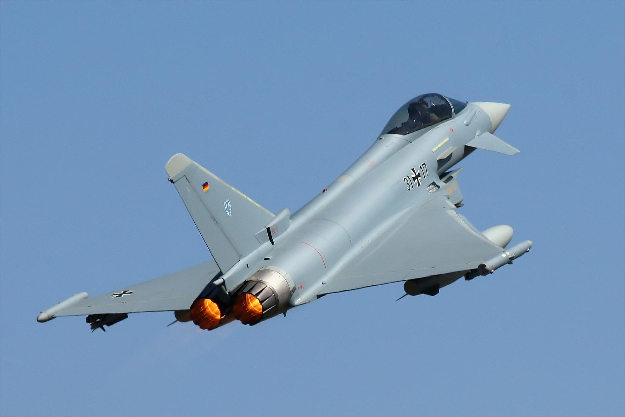 Défaut majeur de fabrication détecté sur l'Eurofighter.