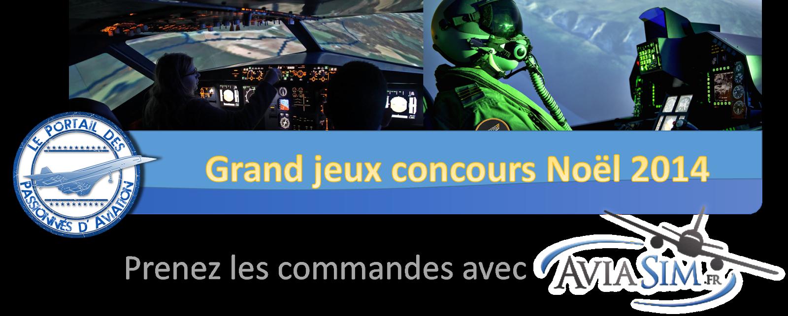 Jeux concours de Noël: Prenez les commandes d'un Airbus ou d'un F-16 avec Aviasim !