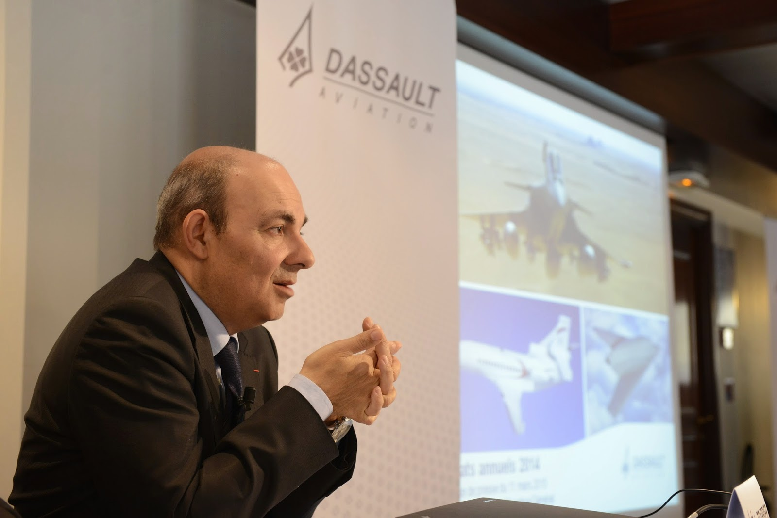 Dassault Aviation Résultats 2014 et perspectives futures