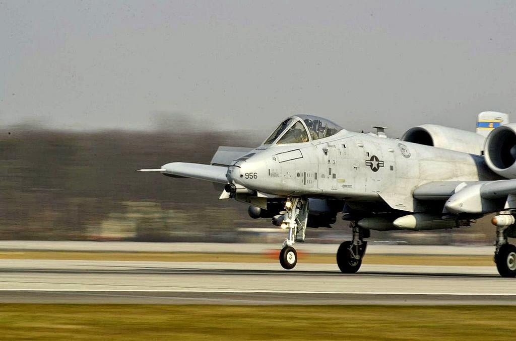 Le A-10 de retour en terre européenne