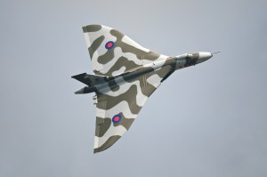 Le Vulcan en vol