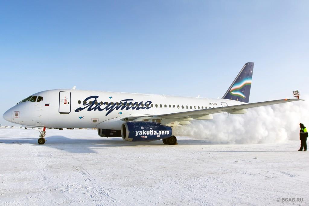SSJ100 Yakutia © Alexey Petrov