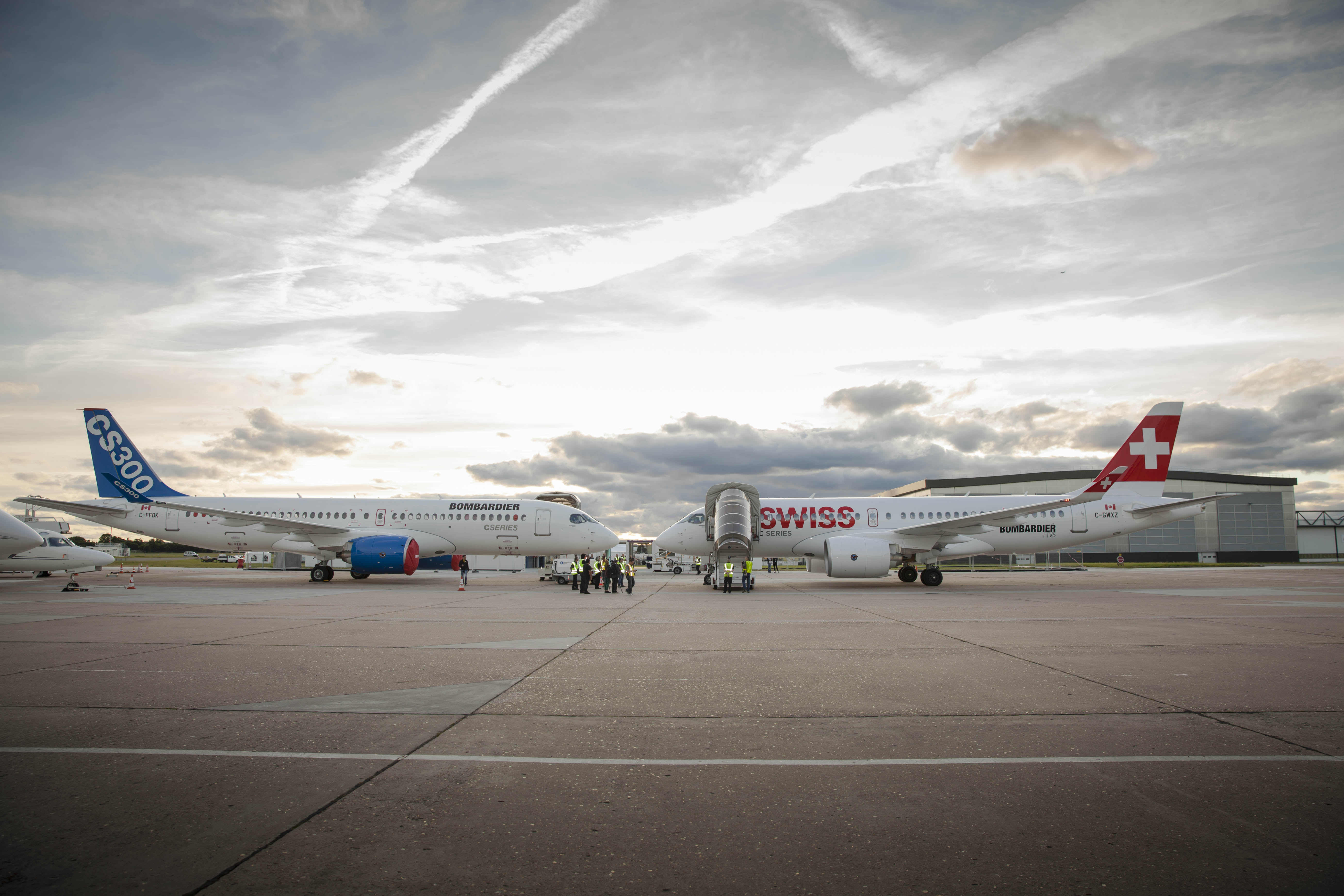 Swiss Air commande 10 C Series 300