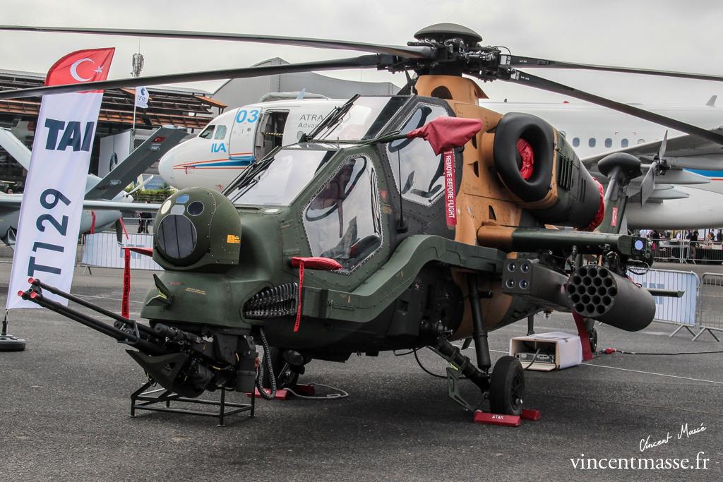 L\'hélicoptère d\'attaque Turc, le TAI T129 ATAK - Le Portail ...