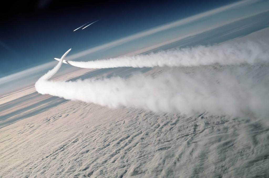 F-15 combat aérien