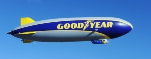 Zeppelin NT-101 comme support médiatique de Goodyear