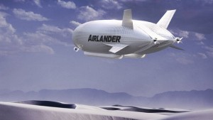 Vue d'artiste Airlander 10 - Crédit : HAV