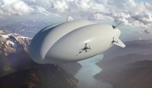 Vue d'artiste LMH-1 - Crédit : Lockheed Martin / Hybrid Enterprises