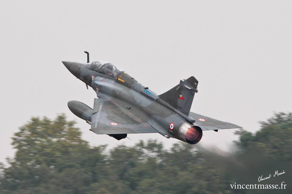 Mirage 2000 D du 2/3 SPA 67 au décollage. © Vincent Massé
