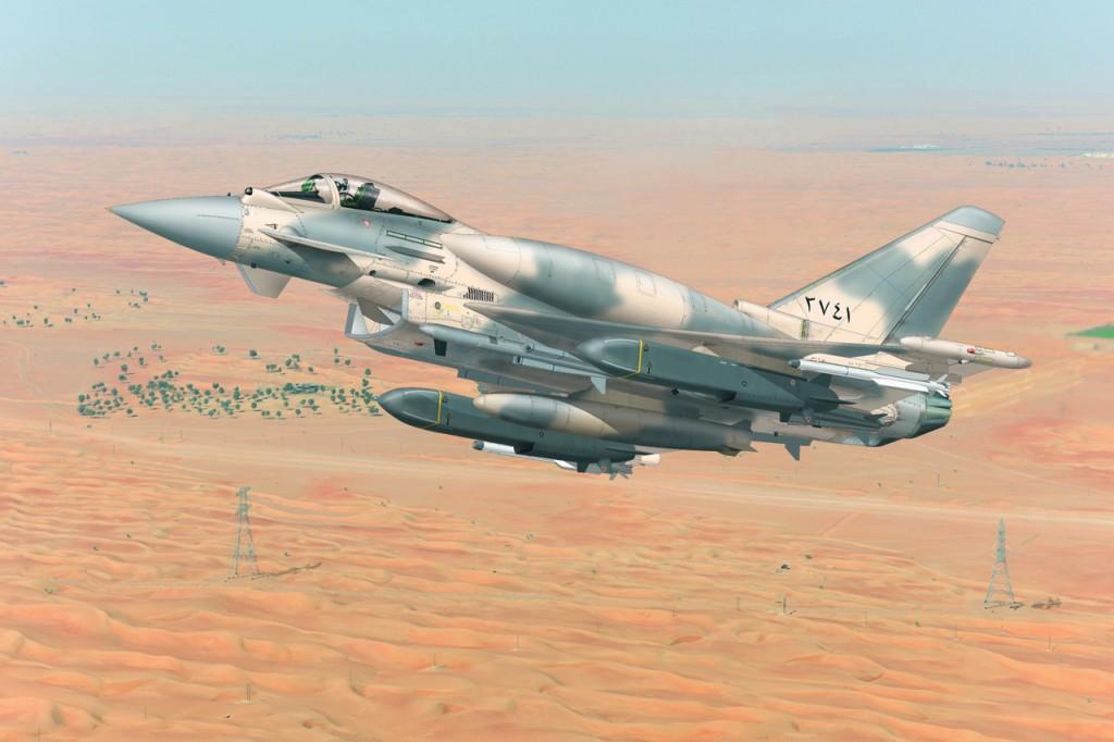 Si le consortium Eurofighter continue de promouvoir une version plus polyvalente du Typhoon, notamment au Moyen-Orient, l'Allemagne semble vouloir se tourner vers un autre appareil pour le remplacement de ses Tornado. Source Airbus Defense