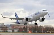 L'A321neo a effectué son premier vol