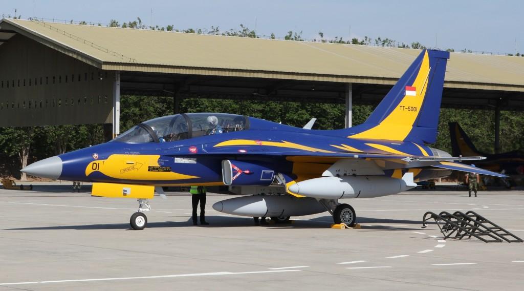 Author Korea Aerospace Industries KAI_T-50i_in_Indonesia