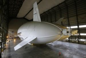 Airlander 10, Crédits : Reuters