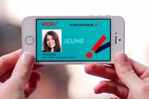 La carte Jeunes Hop-Air France sera dématérialisée