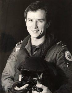 Flt Lt Pete Collins, début des années 80
