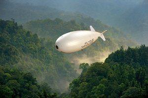 Vue d'artiste du LCA60T, Crédit: FLYING WHALES