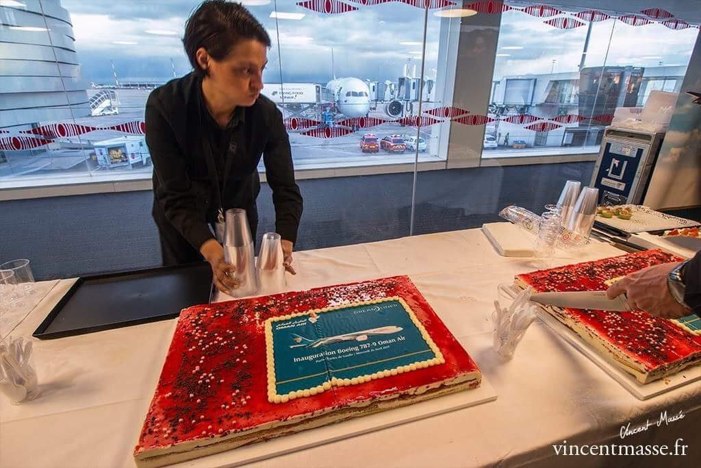 gâteau 787 oman