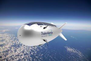Projet Stratobus TM, Crédits : Thales Aliena Space