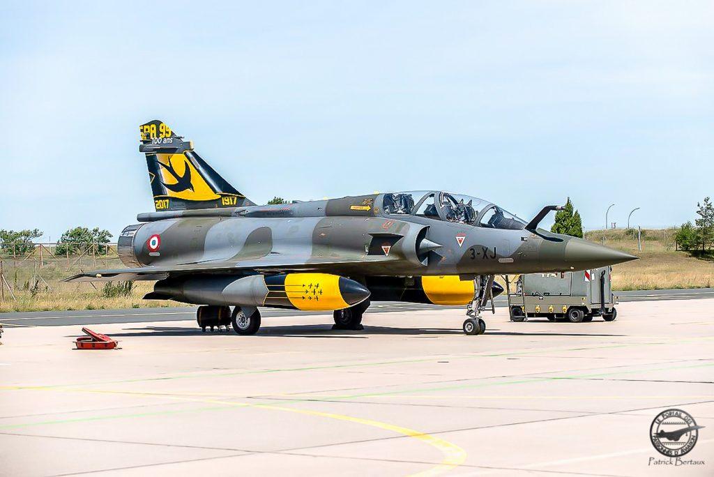 Mirage 2000 D n° 602, 3-XJ, SPA 95, BA 133 100 ans SPA 95 , 2017