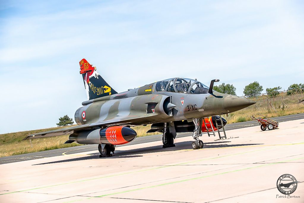 Mirage 2000D n°618, 3-XC, 100 ans SPA 153, BA 133 , 2017