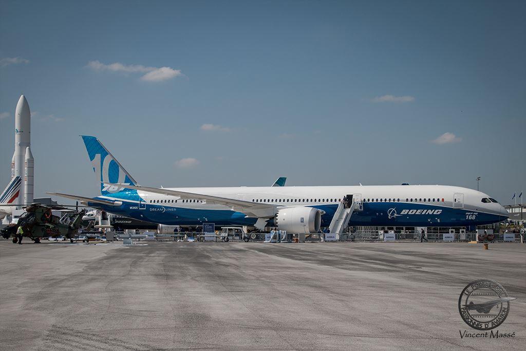 Le 787-10 au Salon du Bourget