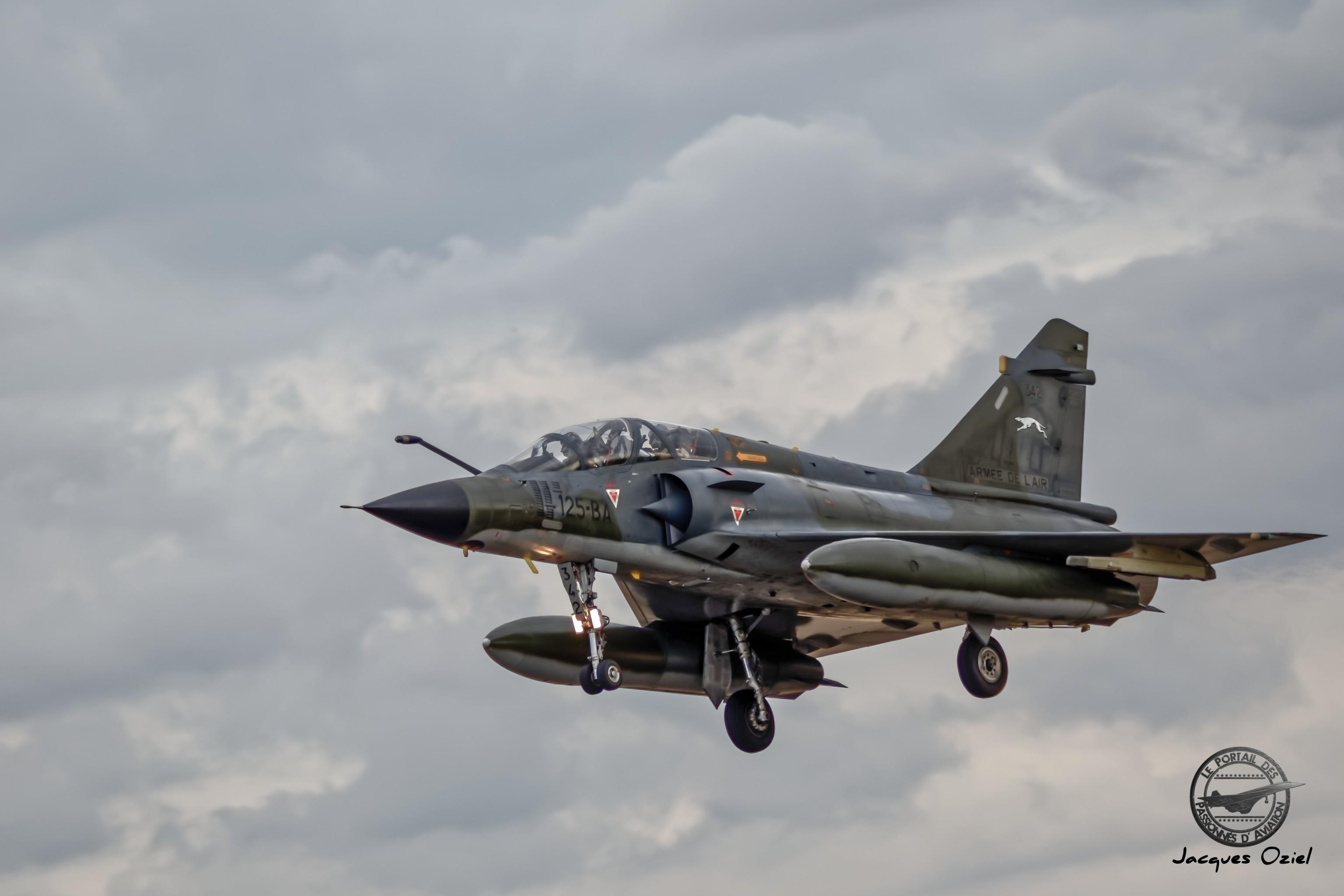 Dassault-Breguet Mirage 2000 N - 342/125-BA - France/EC 2/4 La Fayette