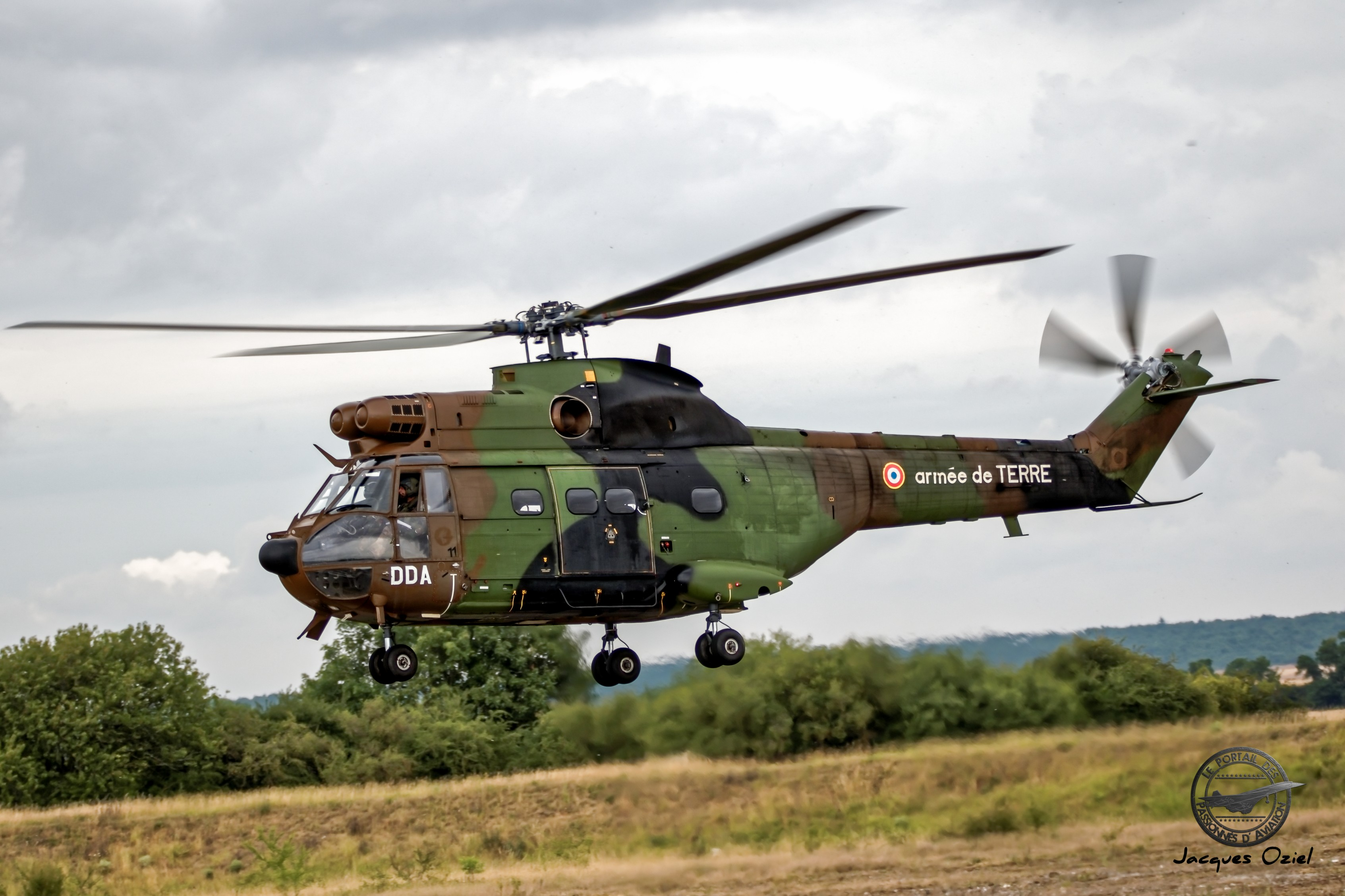 Hélicoptère Sud Aviation SA 330 Puma de l'ALAT