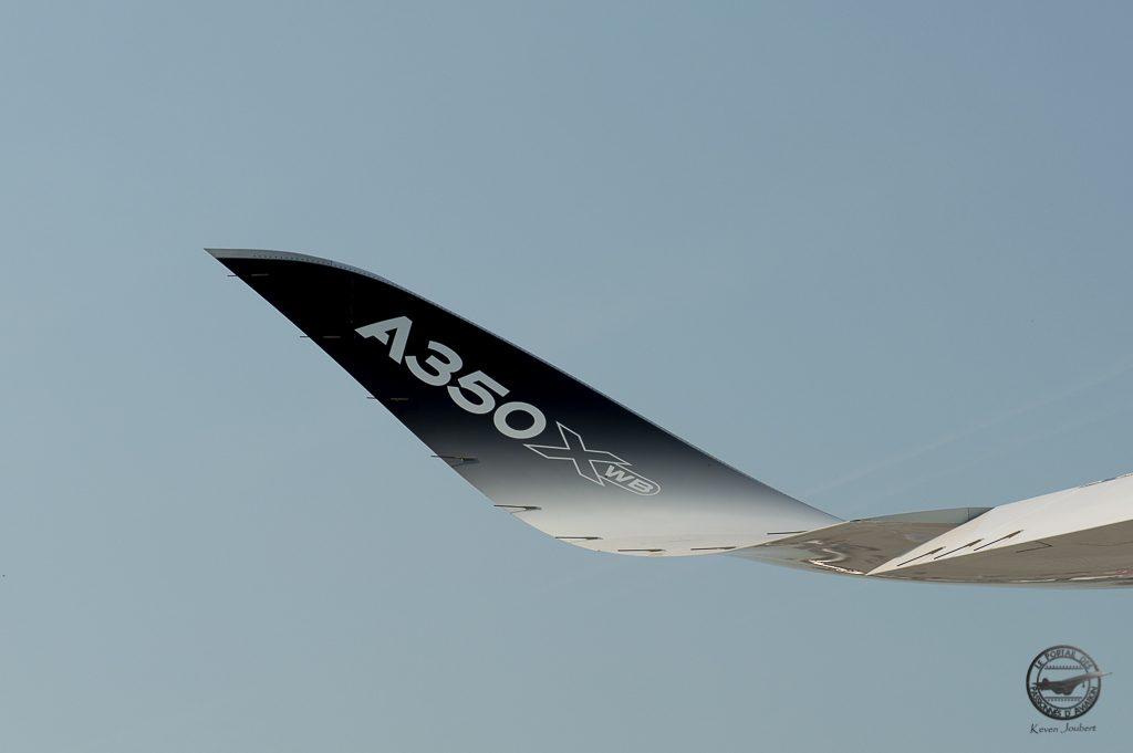 Les winglets dont la forme est si typique de l'A350