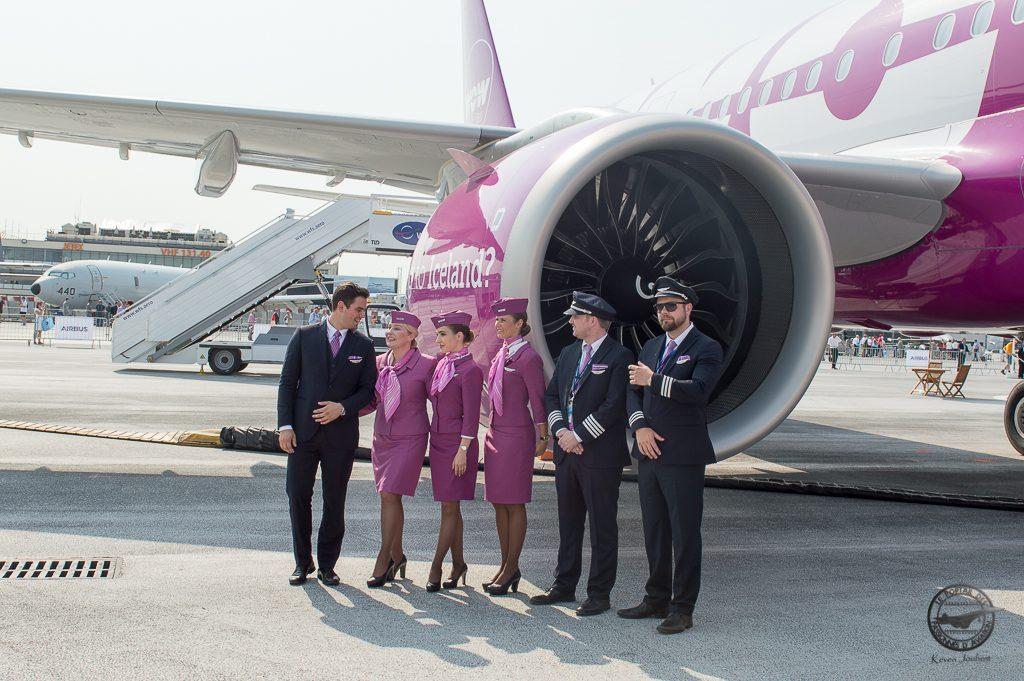 SIAE 2017 l'équipage qui ramenéra l'avion en islande
