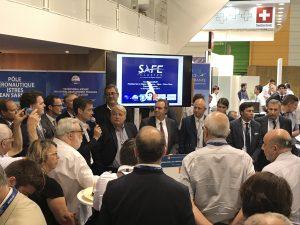 Discours des porteurs de projets devant Renaud Muselier, Présdent de la région PACA