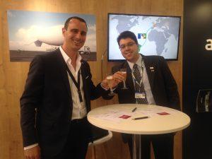 Romain Chabert (Airstar Aerospace) & Leonardo Nogueira (Altave), Crédits : Airstar Aerospace