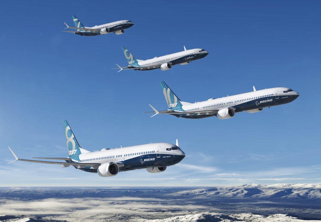 La famille 737 MAX désormais complète
