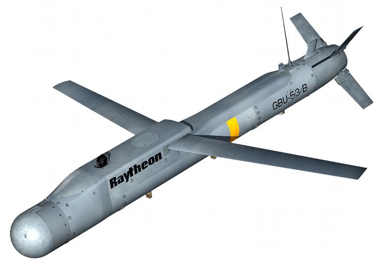 Bom be planante GBU-53/B. image raytheon.