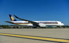 Le premier A350 ULR s'est envolé pour Singapour