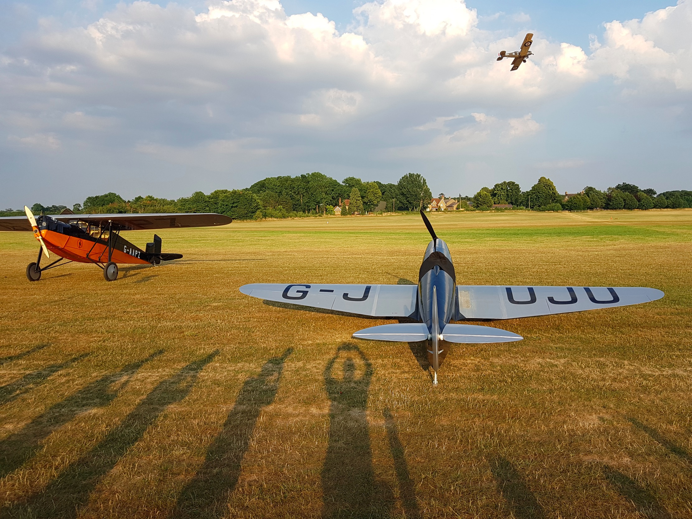 Un 14 juillet sur le terrain de Old Warden,  The Shuttleworth Collection