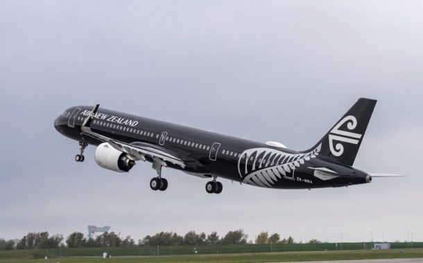 Air New Zealand reçoit son premier A321neo