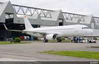 airbus: l'A320 montre le bout de ses sharklets