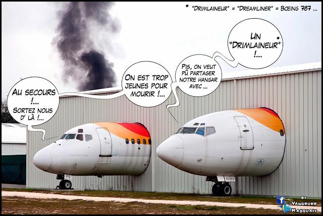 décryptage: la maintenance d'un Boeing 777 chez Air France