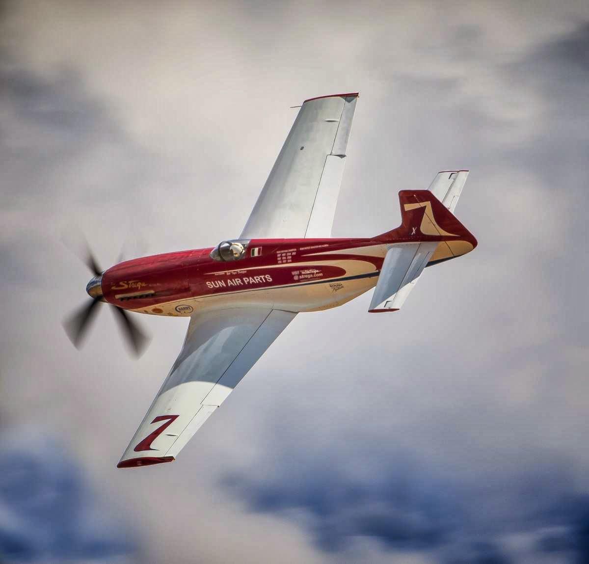 Strega P-51 Mustang: une star des courses de Reno est à vendre