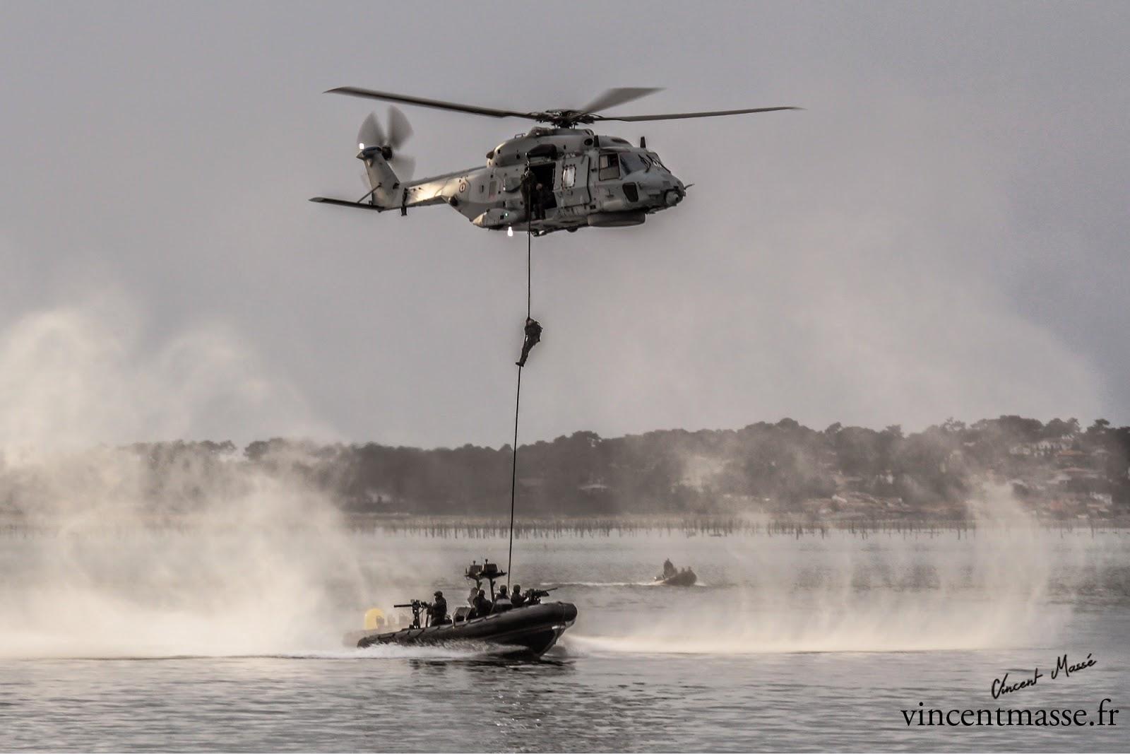 Reportage Photos: Opérations spéciales à Arcachon