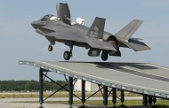 F-35B : Premiers tests sur tremplin