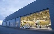 Début de l'assemblage de l'A350-1000