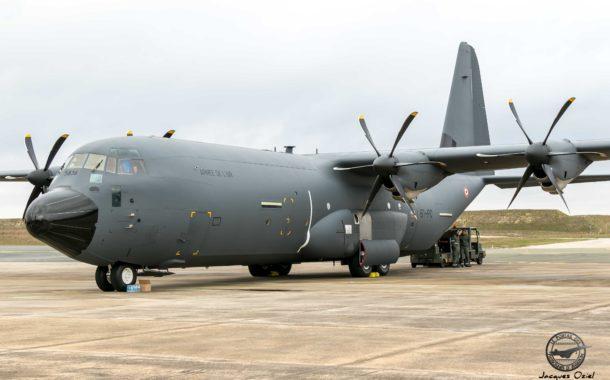 L'Armée de l'air reçoit son 1er C-130J